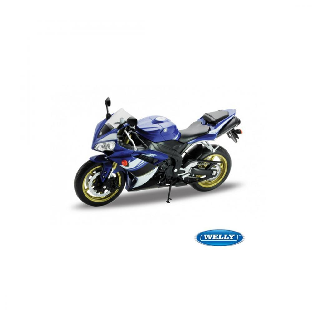 WELLY MODEL 1:10 YAMAHA YZF-R1 MODRÁ