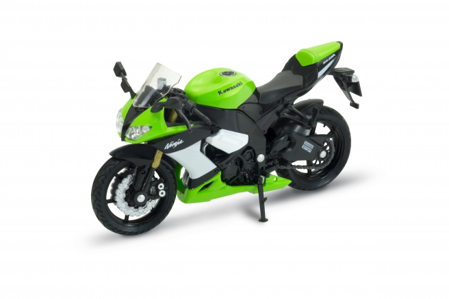 WELLY MODEL 1:18 KAWASAKI NINJA ZX10R