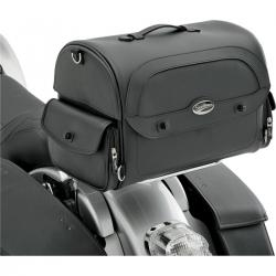 SADDLEMEN EXPRESS CRUIS´N TRUNK BAG SYNTHETIC LEATHER BLACK