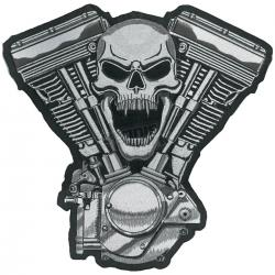 LETHAL THREAT PATCH SKULL MOTOR