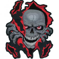 LETHAL THREAT PATCH SKULL RIP LRG