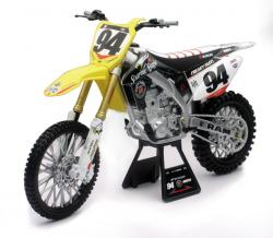 NEWRAY MODEL SUZUKI RM-Z450 RCH Factory Racing 1:6