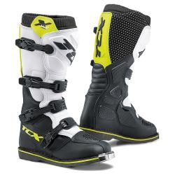 TCX OBUV X-BLAST BLACK/WHITE/YELLOW FLUO
