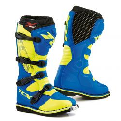 TCX OBUV X-BLAST ROYAL BLUE/YELLOW FLUO
