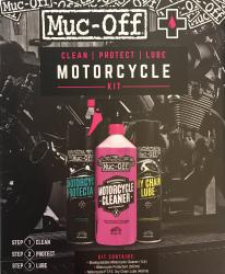 MUC OFF BIKE KIT – CLEANER+PROTECTANT+DRY LUBE