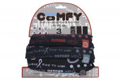 OXFORD ŠATKA COMFY GRAFITTI MONO 3KS