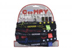 OXFORD ŠATKA COMFY GRAFITTI MULTI 3KS