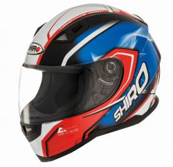 SHIRO PRILBA SH-881 MOTEGI RED-BLUE