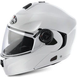 AIROH PRILBA RIDE S COLOR WHITE GLOSS M
