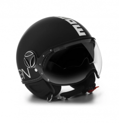 MOMO DESIGN PRILBA FGTR EVO BLACK MATT/WHITE