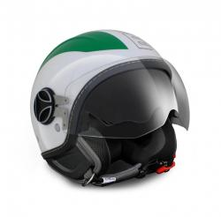 MOMO DESIGN PRILBA AVIO PRO GREEN/WHITE/RED