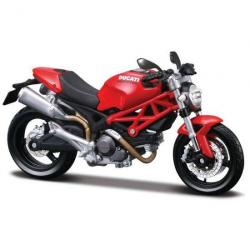 MAISTO MODEL 1:12 DUCATI MONSTER 696 ČERVENÁ