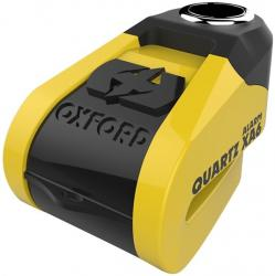 OXFORD ZÁMOK QUARTZ XA6 YELLOW/BLACK 6MM ALARM
