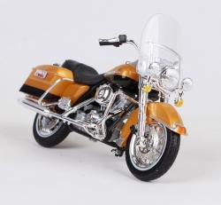 MAISTO MODEL 1:18 HD ´99 FLHR ROAD KING ZLATÁ
