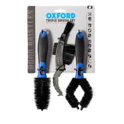 OXFORD KEFY TRIPLE BRUSH SET
