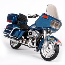 MAISTO MODEL 1:18 HD FLT TOUR GLIDE MODRÁ