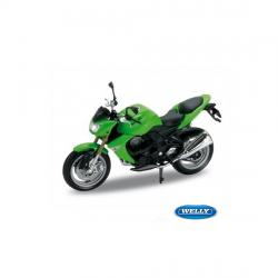 WELLY MODEL 1:18 KAWASAKI Z1000 2007 ZELENÁ
